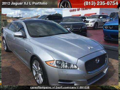 2012 Jaguar XJ L Portfolio XJ L Portfolio for sale in TAMPA, FL