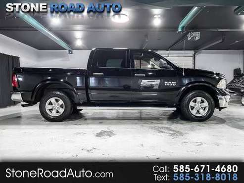 2014 RAM 1500 4WD Crew Cab 140.5 Outdoorsman - cars & trucks - by... for sale in Ontario, NY