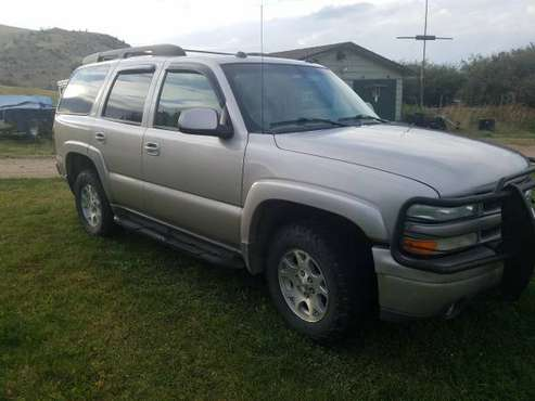 2004 Chevy Tahoe Z71 for sale in Norris, MT