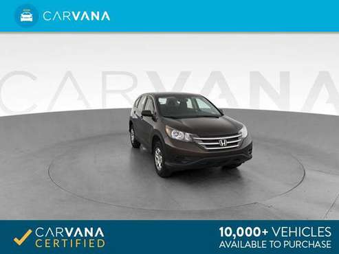 2013 Honda CRV LX Sport Utility 4D suv Dk. Gray - FINANCE ONLINE for sale in Cary, NC