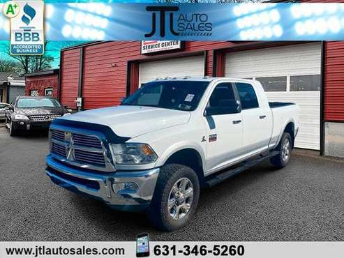 2012 Ram 2500 4WD Mega Cab/Laramie/Cummings Diesel/72k/Mint - cars &... for sale in Selden, NY