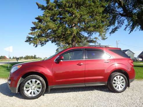 2010 Chevy Equinox LT - FWD - 4 Dr - Maroon - 83k - SUPER NICE!- for sale in Iowa City, IA