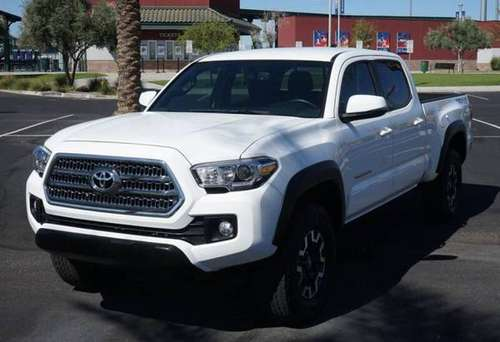 2017 Toyota Tacoma TRD Off Road 4x4 4dr Double Cab 6.1 ft LB for sale in El Paso, TX