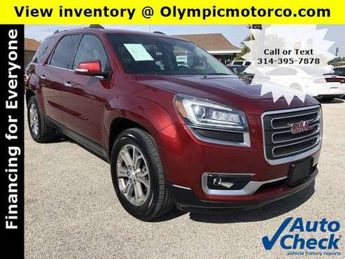 2015 GMC Acadia SLT * 3rd Row * Leather * BOSE * Warranty for sale in Florissant, MO