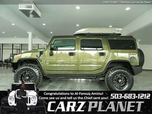 2003 HUMMER H2 4x4 4WD LIFTED WHEELS AND TIRES HUMMER H2 LOW MILES HUM for sale in Gladstone, OR