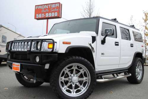 "Lifted 2005 Hummer H2 Luxury on 24"" Wheels & 37"" Tires, Loaded!!! for sale in Anchorage, AK"