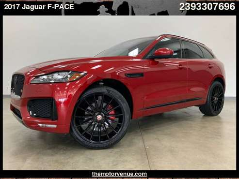 2017 Jaguar F-PACE AWD 4dr S for sale in Naples, FL