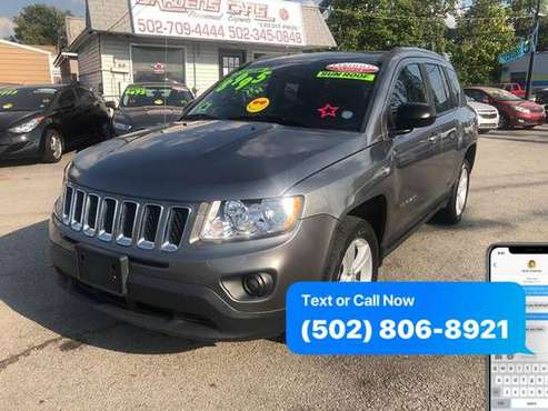 2013 Jeep Compass Latitude 4x4 4dr SUV EaSy ApPrOvAl Credit Specialist for sale in Louisville, KY
