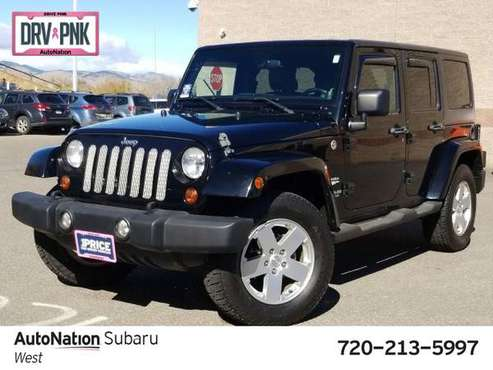 2011 Jeep Wrangler Unlimited Sahara 4x4 4WD Four Wheel SKU:BL568358 for sale in Golden, CO