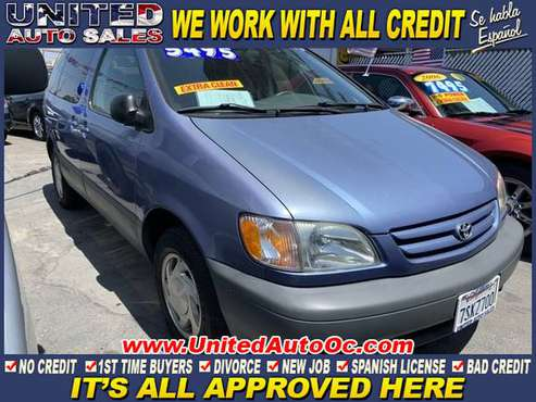 2001 Toyota Sienna LE for sale in midway city, CA