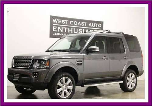 2016 Land Rover LR4 HSE Heavy Duty Pkg/Vision Assist/Clean Carfax/38k for sale in Beaverton, OR