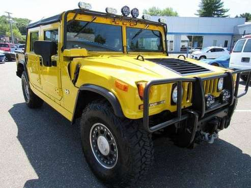 2006 Hummer H1 SUV Open Top - Yellow for sale in Terryville, CT
