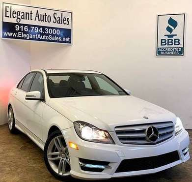 2012 Mercedes-Benz C-Class C250 * 77K LOW MILES * WARRANTY * FINANCE for sale in Rancho Cordova, CA