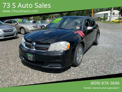 2012 DODGE AVENGER SE SEDAN - cars & trucks - by dealer - vehicle... for sale in HAMMONTON, NJ