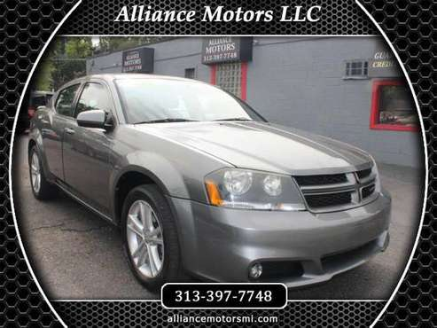 2013 Dodge Avenger 4dr Sdn SXT - cars & trucks - by dealer - vehicle... for sale in Detroit, MI