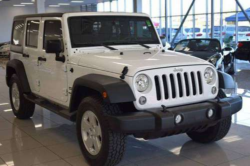 2015 Jeep Wrangler Unlimited Sport 4x4 4dr SUV **100s of Vehicles** for sale in Sacramento , CA