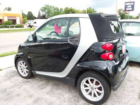 2008 Convertible Smart ForTwo with Traction Control Heated Leather! for sale in Sturtevant, WI