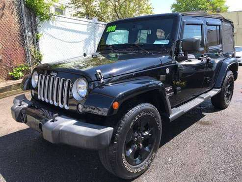 2016 Jeep Wrangler Unlimited 4WD 4dr Sahara for sale in Jamaica, NY