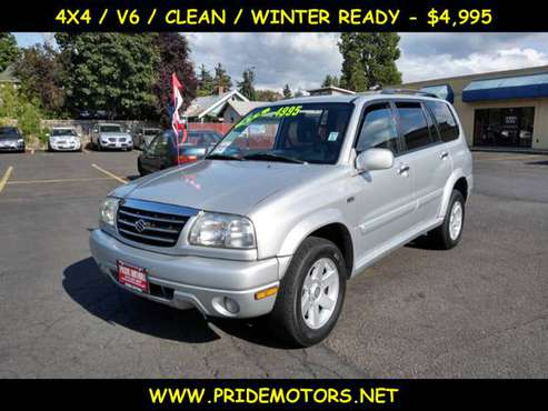2003 SUZUKI XL-7 / 4X4 / V6 / READY FOR WINTER for sale in Eugene, OR
