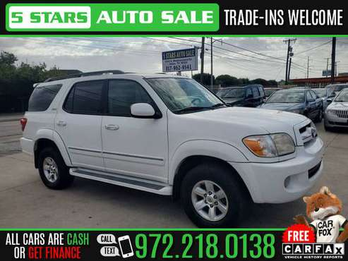 2005 TOYOTA SEQUOIA SR5 for sale in Dallas, TX