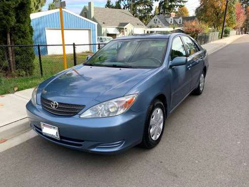 2004 Toyota Camry LE, Low Miles, 35MPG for sale in Seattle, WA