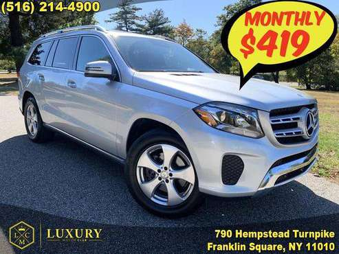 2017 Mercedes-Benz GLS-Class GLS 450 4MATIC SUV 419 / MO for sale in Franklin Square, NY