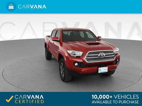 2017 Toyota Tacoma Double Cab TRD Sport Pickup 4D 5 ft pickup Red - for sale in Barrington, RI