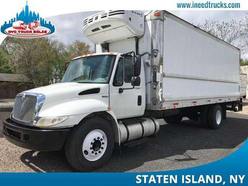 2009 INTERNATIONAL 4300 24' FEET REEFER TRUCK LIFT GATE AUTOM-Philadel for sale in Staten Island, PA