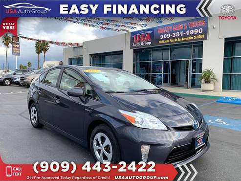 2015 Toyota Prius Two Hybrid - MORE FOR YOUR MONEY! for sale in San Bernardino, CA