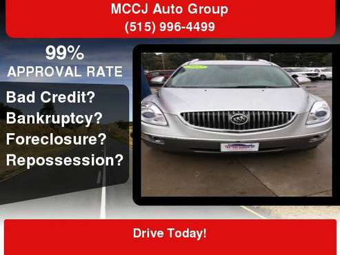 2012 Buick Enclave AWD 4dr Leather GUARANTEED CREDIT APPROVAL! *100%... for sale in Des Moines, IA