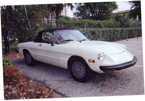 1976 Alfa Romeo Spider for sale in Wilson, NC