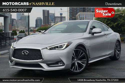 2018 INFINITI Q60 3.0t LUXE RWD ONLY $999 DOWN *WE FINANCE* for sale in Nashville, TN