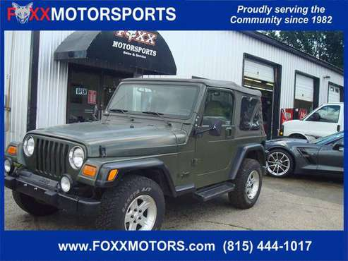 2001 Jeep Wrangler Sport *5 sp Manual for sale in Crystal Lake, IL