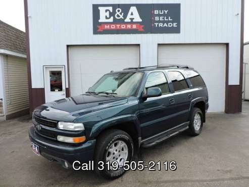 2005 Chevrolet Tahoe Z71 for sale in Waterloo, IA