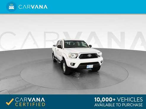 2013 Toyota Tacoma Double Cab PreRunner Pickup 4D 5 ft pickup WHITE - for sale in Chicago, IL