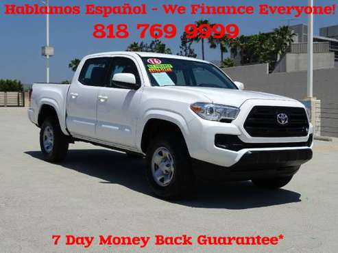 2016 Toyota Tacoma Double Cab V4 Bluetooth, BLUETOOTH AUDIO, New... for sale in North Hollywood, CA