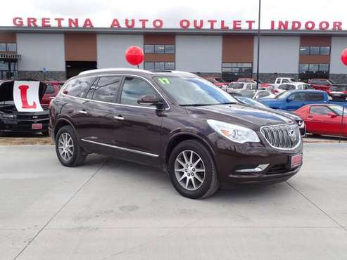 2017 Buick Enclave AWD Leather 4dr Crossover, Brown for sale in Gretna, NE