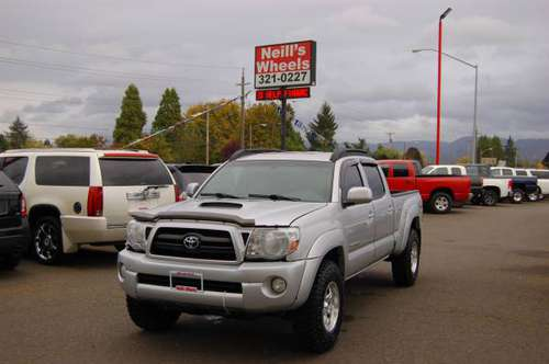 🌟 2008 Toyota Tacoma, double cab, 4x4🏁 $222 per month 🏁 LOW MILES🌟 for sale in Eugene, OR