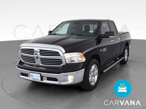 2013 Ram 1500 Quad Cab Big Horn Pickup 4D 6 1/3 ft pickup Black - -... for sale in Farmington, MI