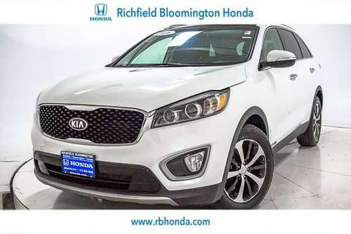 2016 *Kia* *Sorento* *AWD 4dr 3.3L EX* Snow White Pe for sale in Richfield, MN