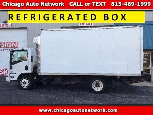 2011 Isuzu NRR Refrigerated Reefer Truck 38k LOW MILES npr nqr box for sale in Mokena, IL