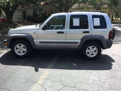 2006 JEEP LIBERTY SPORT 4X4 LOADED XTRA CLEAN SUV ONLY 126K MILES!!! for sale in Sarasota, FL