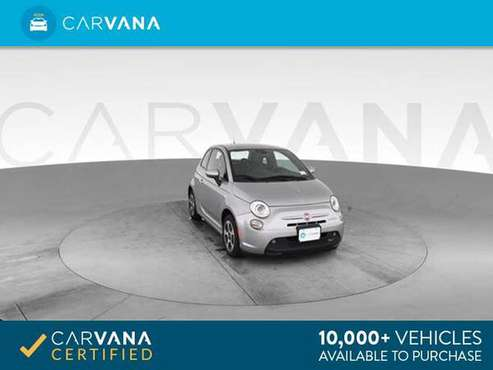 2016 FIAT 500e Hatchback 2D hatchback Silver - FINANCE ONLINE for sale in Atlanta, CA
