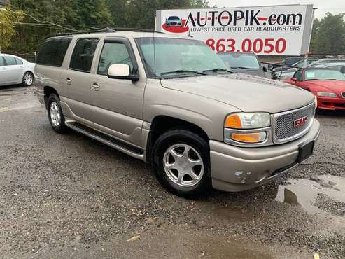 2002 GMC Yukon XL 1500 Denali SKU:7227 GMC Yukon XL 1500 Denali SUV for sale in Howell, NJ