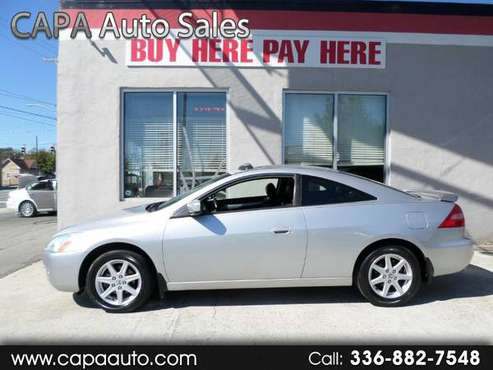 2003 Honda Accord EX V6 Coupe BUY HERE PAY HERE for sale in High Point, NC