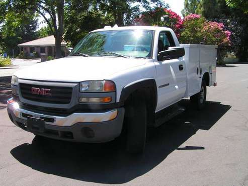 2006 GMC Sierra 2500 HD Utility Service Truck, Regular Cab 2WD for sale in Dixon, CA