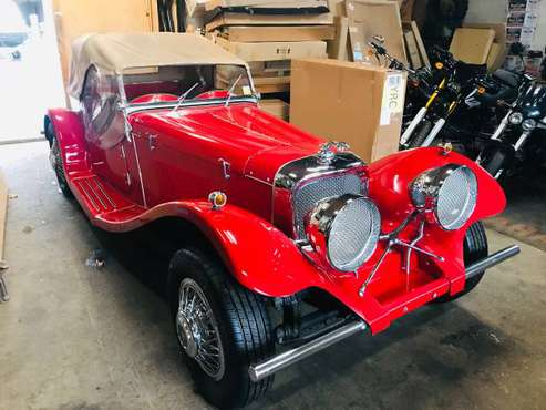 super clean 1937 jaguar kit car for sale in Ticonderoga, VT