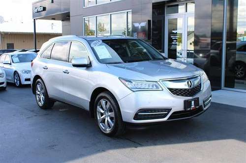 2014 Acura MDX All Wheel Drive SH-AWD w/Advance w/RES SUV for sale in Bellingham, WA