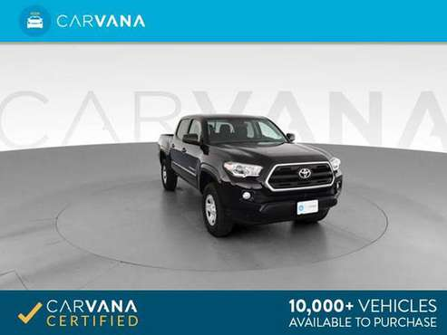 2016 Toyota Tacoma Double Cab SR5 Pickup 4D 5 ft pickup BLACK - for sale in Barrington, RI