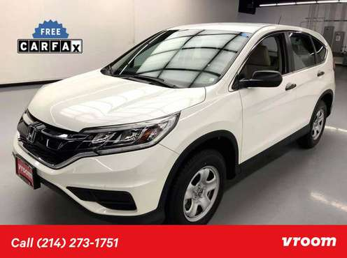 2016 Honda CR-V LX SUV for sale in Dallas, TX